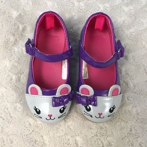 Gymboree Mouse Shoes Size 5 Toddler Girl Flats